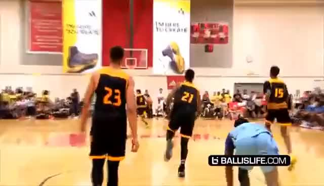 Watch LaMelo Ball GOES AT Compton Magic In HEATED DOUBLE OT REMATCH + Lonzo Debuts His ZO2 Shoes! GIF on Gfycat. Discover more related GIFs on Gfycat