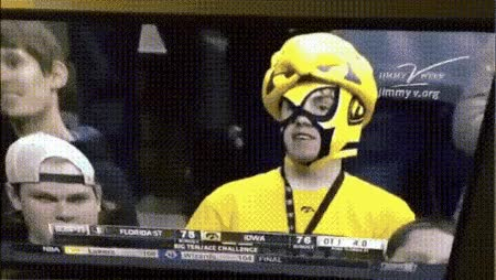 Watch and share Iowa Fans GIFs on Gfycat