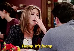 Watch and share Joey Tribbiani GIFs and Rachel Green GIFs on Gfycat