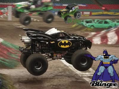 Watch and share Grave Digger Vs Batman GIFs on Gfycat