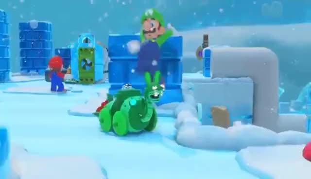 Watch and share Luigi Dabbing GIFs on Gfycat