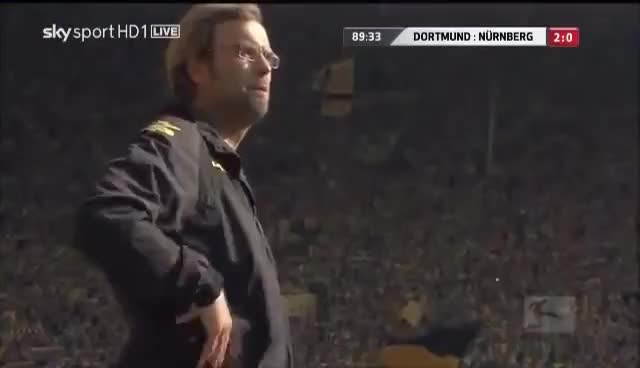Watch and share BVB Coach Klopp Bundesliga Goal GIFs on Gfycat