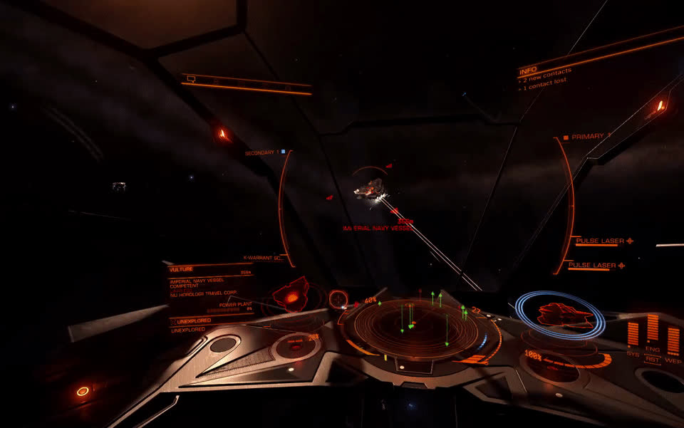 elitedangerous, Too close for missiles. Switching to FUCK YOU! GIFs