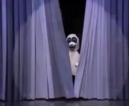 Watch this panda GIF on Gfycat. Discover more , animals, bear, bears, comedy, cute, dance, dancing, fallon, funny, hashtag, ioanna, jimmy, moves, panda, panda bear GIFs on Gfycat