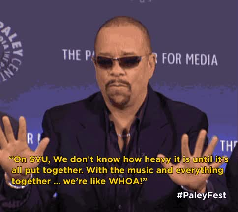 Watch The Paley Center for Media GIF on Gfycat. Discover more ice-t GIFs on Gfycat