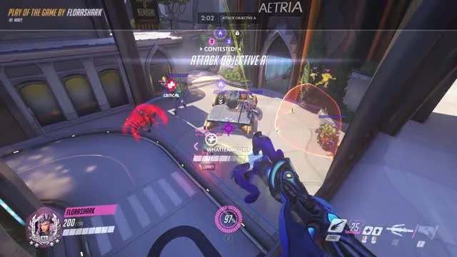 Watch and share Overwatch GIFs and Mercy GIFs by ashigator on Gfycat