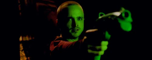 Watch and share Aaron Paul GIFs and Gun GIFs on Gfycat