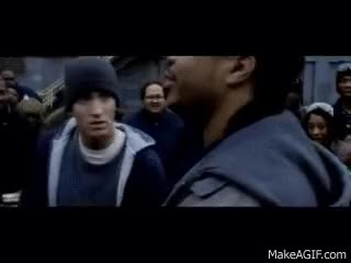 Watch and share 8 Mile - Eminem Vs Xzibit Freestyle HD GIFs on Gfycat