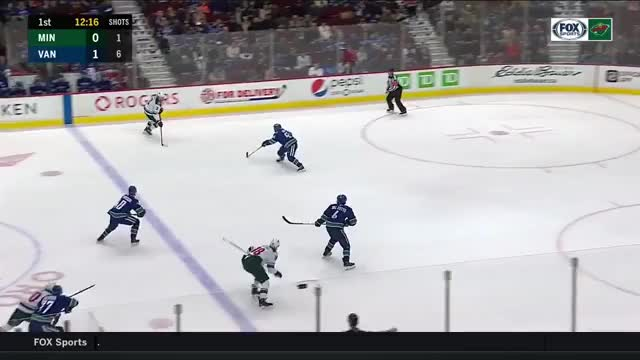 Watch and share Vancouver Canucks GIFs and Minnesota Wild GIFs on Gfycat