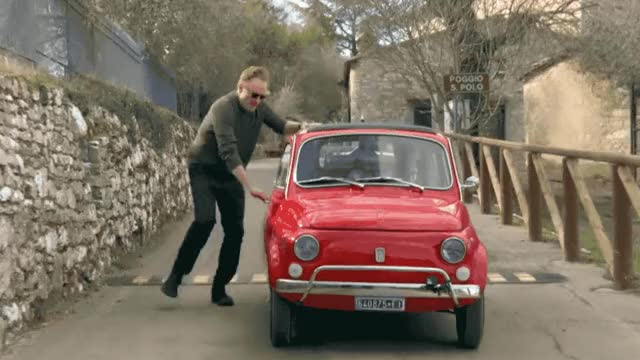 Watch this running GIF by GIF Queen (@ioanna) on Gfycat. Discover more broke, car, come, conan, engine, epic, fast, italian, italy, jordan, let's leave, lol, old, road, roadtrip, run, running, schlansky, trip GIFs on Gfycat