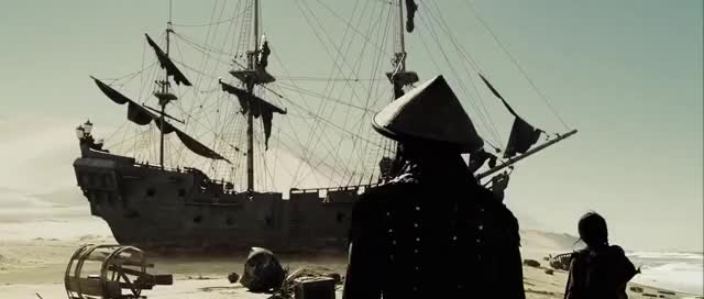 Watch and share Jack Sparrow Entrance At World's End GIFs on Gfycat