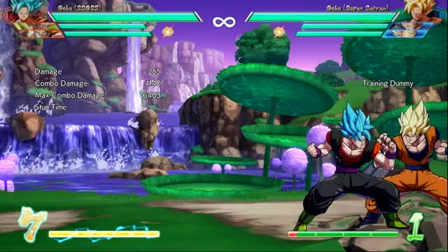 Watch and share Goku Blue GIFs and Dbfz GIFs by Aspyre on Gfycat