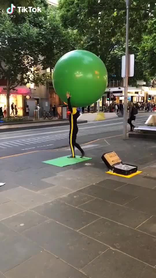 Watch and share Play A Ballon  GIFs by Funny gifs on Gfycat