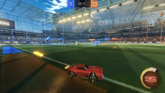 Watch Goal 2: esther GIF by Gif Your Game (@gifyourgame) on Gfycat. Discover more Gif Your Game, GifYourGame, Goal, Rocket League, RocketLeague, esther GIFs on Gfycat