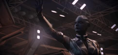 Watch and share Mass Effect 3 – Main Squadmate Introduction Gifset GIFs on Gfycat