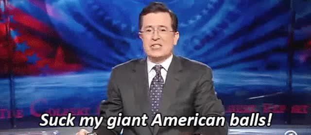 Watch Team america fuck yeah GIF on Gfycat. Discover more stephen colbert GIFs on Gfycat