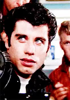 Watch blog inactive GIF on Gfycat. Discover more *, *film, 1k, grease, john travolta, let me have this, my secret grease ship shhh, stockard channing, they are established pre-canon!!! GIFs on Gfycat