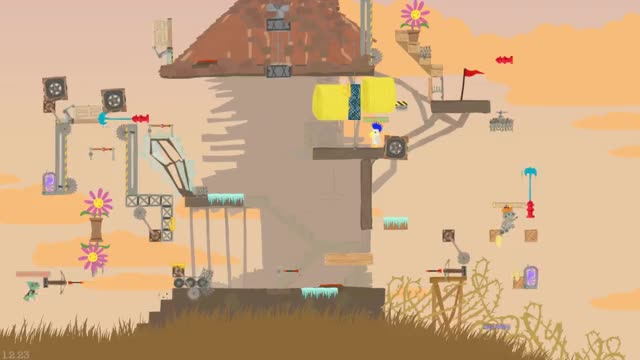how to create levels in ultimate chicken horse