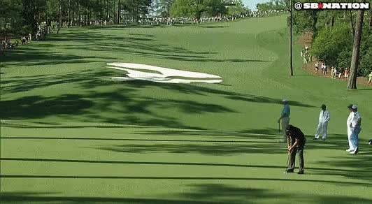 Watch and share Golf Putt GIFs on Gfycat