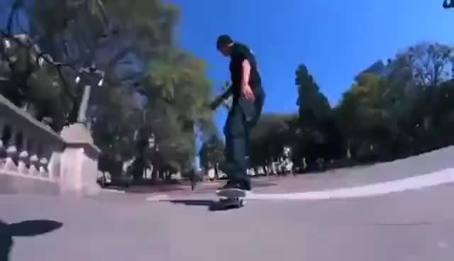 Watch and share Hardflip Late 180 GIFs on Gfycat