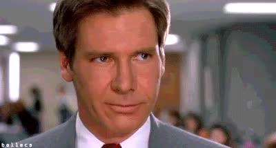 harrison ford, shake my head, smh, Harrison Ford SMH GIFs