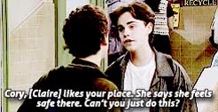 Watch and share Boy Meets World GIFs and Claire Ferguson GIFs on Gfycat