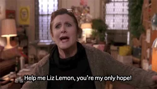 Watch this 30 rock GIF on Gfycat. Discover more 30 rock, carrie fisher, princess leia GIFs on Gfycat