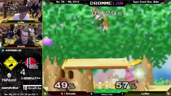 Leffen getting bodied