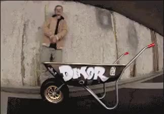 Watch and share Extreme Wheelbarrowing GIFs on Gfycat