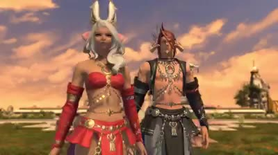 Watch and share FFXIV Dancer Class GIFs by valkurm on Gfycat