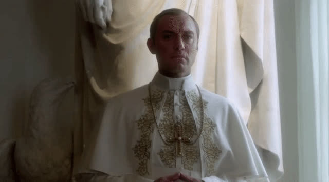 jude law, The Young Pope Jude Law gif tongue GIFs