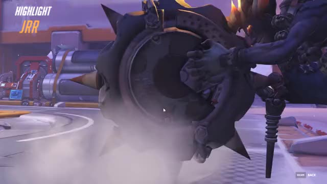 Watch and share Overwatch GIFs and Junkrat GIFs by knaws6 on Gfycat