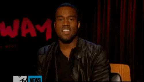 Watch and share Kanye West GIFs by Reactions on Gfycat