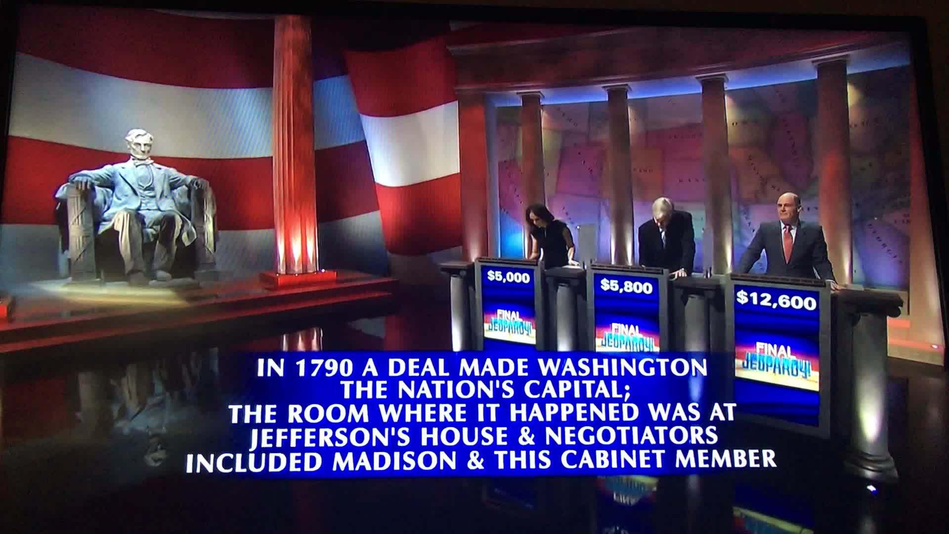 Matthew Weiner, madmen, win, Matthew Weiner winning Jeopardy GIFs