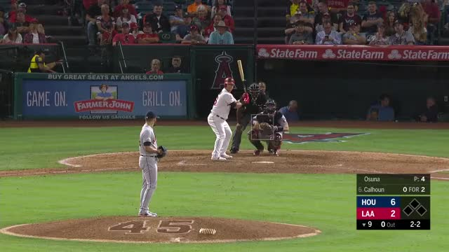 Watch and share Los Angeles Angels GIFs and Houston Astros GIFs by Matthew Wallach on Gfycat