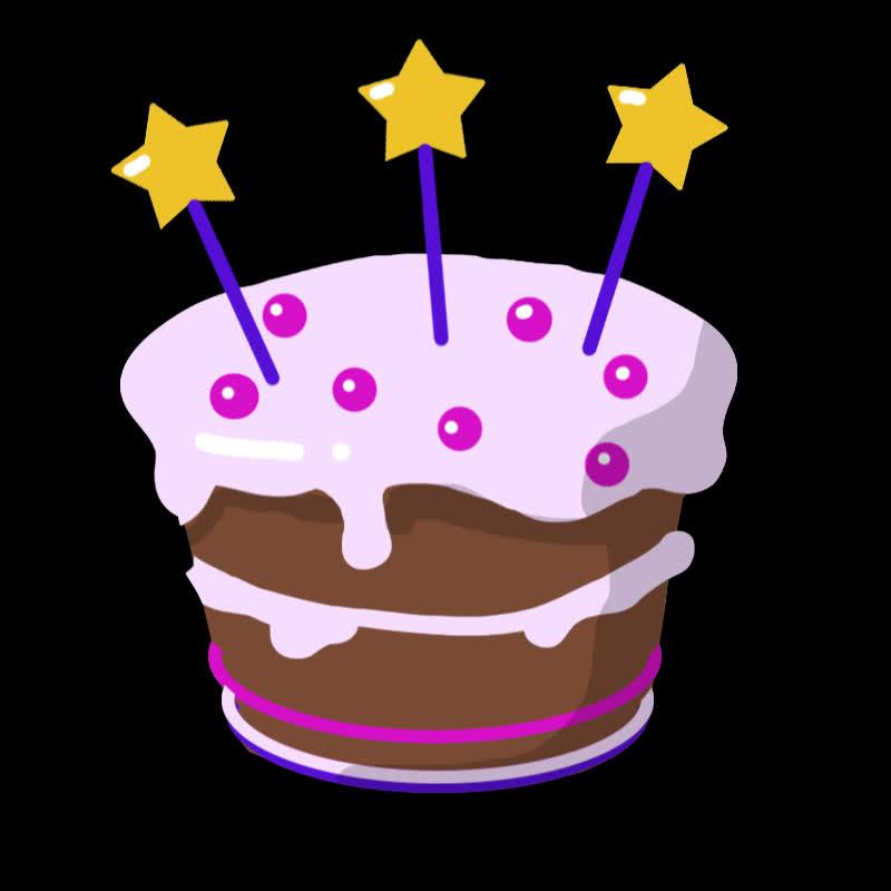 Celebration, bday, birthday, cake, celebrate, dessert, food, party, Birthday Cake GIFs