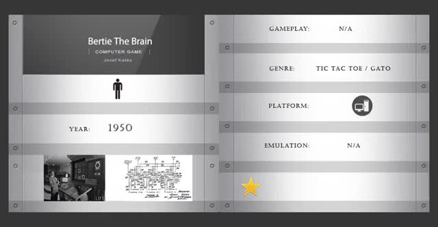 Watch Bertie the Brain (1950) GIF on Gfycat. Discover more 1950, Bertie The Brain, tic tac toe, videogame history GIFs on Gfycat