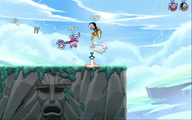 Watch and share Brawlhalla GIFs by Mari on Gfycat