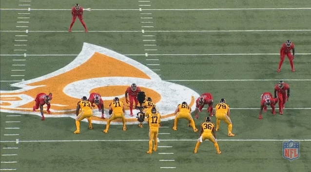 buccaneers, McCoy hand in face GIFs