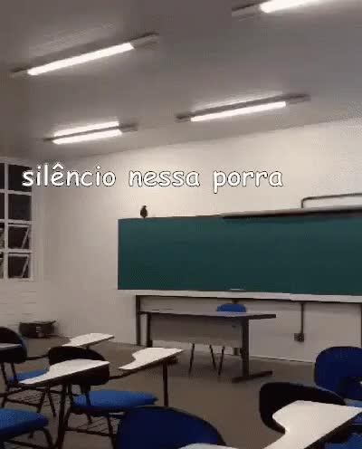 Watch and share POmbo Na Sala De Aula GIFs on Gfycat