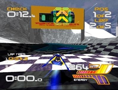 gaminggifs, Wipeout Xl (2097) - Sagarmatha Track - Feisar Ship GIFs
