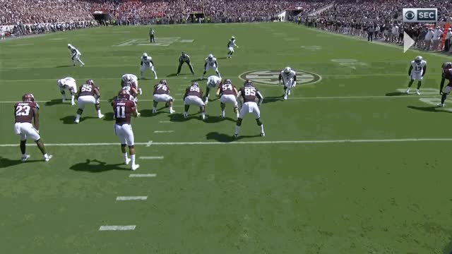 Watch and share 3.) Pocket View Of 3rd Down Conversion GIFs by ausportsnerd on Gfycat