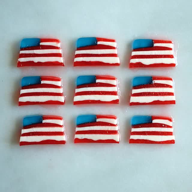 Watch and share Margarita American Flag Jello Shots GIFs on Gfycat