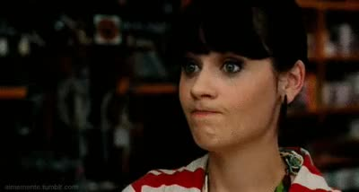 Watch and share Zooey Deschanel GIFs and Sure GIFs on Gfycat