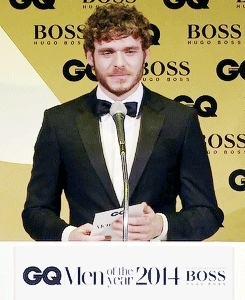 gotcastedit, our edits, richard madden, you are so handsome, Richard Madden presenting Douglas Booth with his Most Stylis GIFs