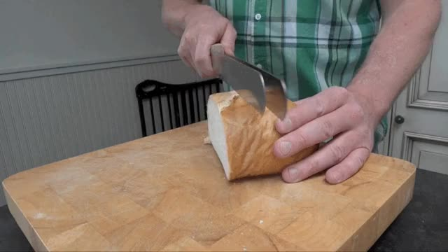 Watch and share Knives GIFs and Bread GIFs by technabob on Gfycat