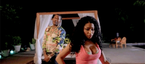 Meek Mill, Nicki Minaj, Nicki Minaj gif, female rapper, gif, my edit, NICKI MINAJ GIFs