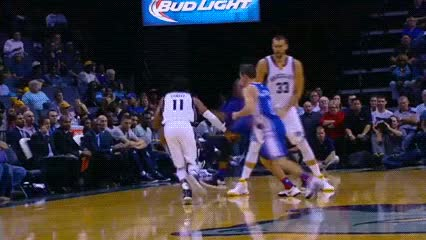 Watch and share Mike Conley — Memphis Grizzlies GIFs by Off-Hand on Gfycat