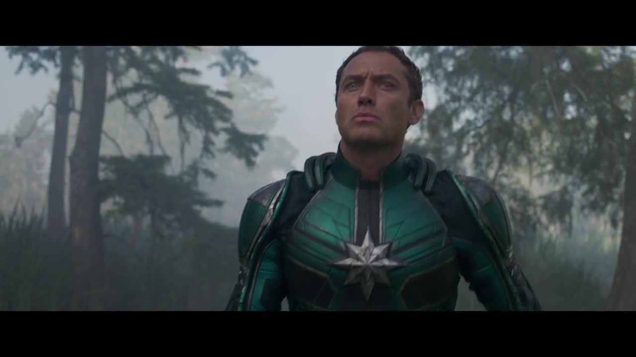 jude law, Jude Law Marvel Studios' Captain Marvel - Trailer 2_1 GIFs