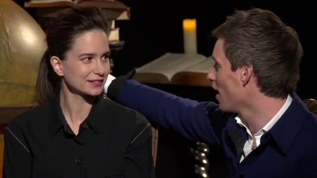 Watch and share Katherine Waterston GIFs and Eddie Redmayne GIFs on Gfycat